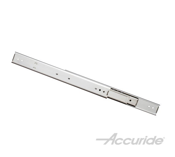 Heavy-Duty Low-Profile Slide with Over-Travel