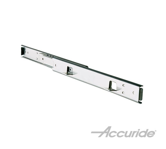Light-Duty Slide with Over-Travel and Quick-Mounting Tabs