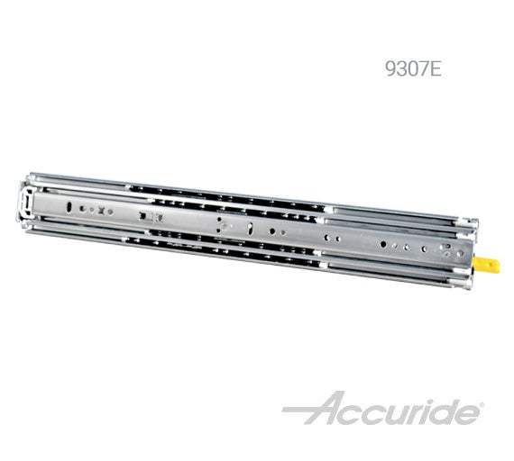 Extra Heavy-Duty Full-Extension Slide with Lock-Out and Front Latch Release