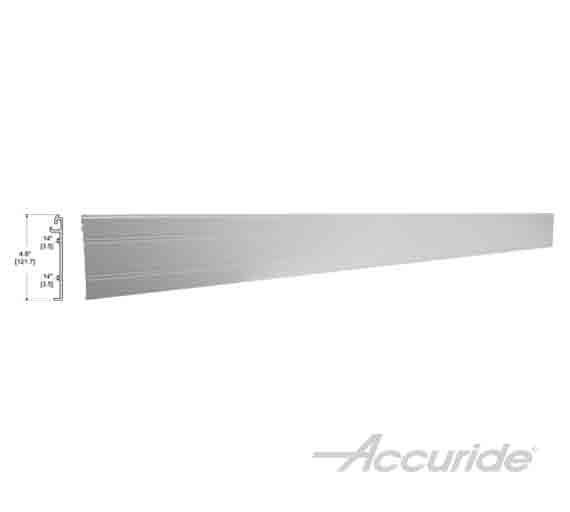 """AL0116-FASCRC 116RC 142"""" Aluminum Fascia"""