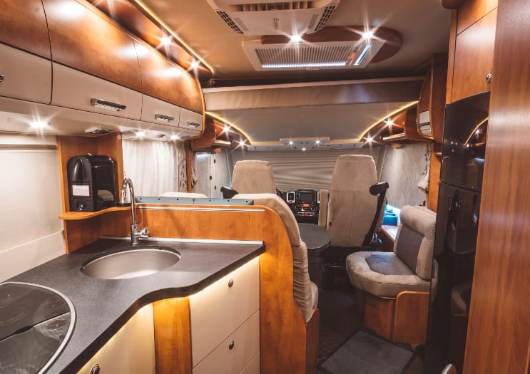 Recreational Vehicle Interior